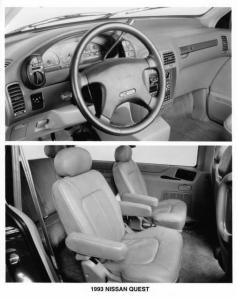 1993 Nissan Quest Interior Press Photo 0030