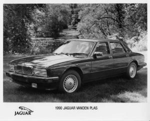 1990 Jaguar Vanden Plas Press Photo 0047