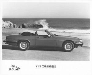 1990 Jaguar XJ-S Convertible Press Photo 0049