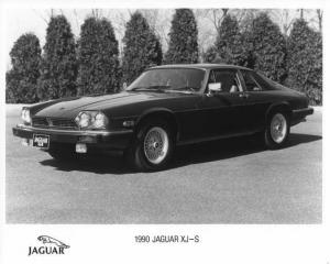 1990 Jaguar XJ-S Press Photo 0050