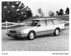 1994 Buick Century Wagon Auto Press Photo 0160