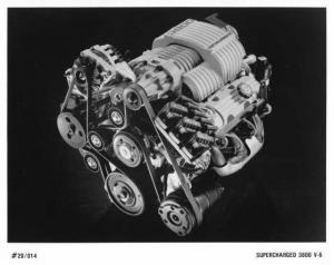 1994 Buick Supercharged 3800 V-6 Engine Press Photo 0164