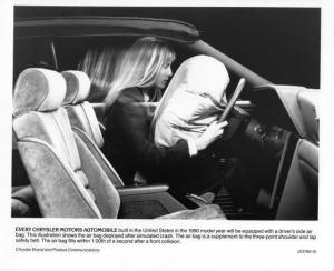 1990 Chrysler Airbags Press Photo 0071