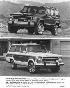 1990 Jeep Wagoneer Limited and Grand Wagoneer Press Photo 0032