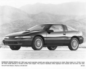 1990 Plymouth Laser Press Photo 0074