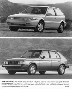 1990 Plymouth Colt and Horizon Press Photo 0077