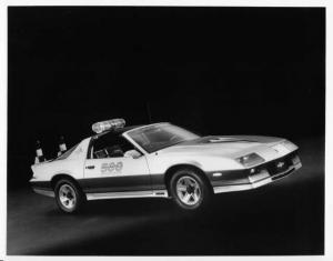 1982 Chevrolet Camaro Z-28 Indy 500 Official Pace Car Press Photo & Release 0066
