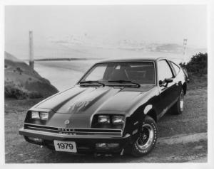 1979 Chevrolet Monza Spyder Press Photo and Release 0419