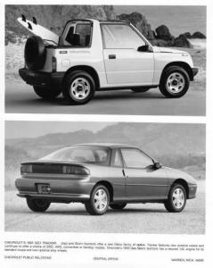 1993 Geo Tracker and Storm Press Photo 0012