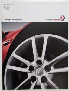 2009 Holden Commodore Berlina & Calais Accessories Sales Brochure Australian Mkt
