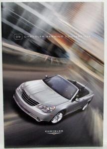 2009 Chrysler Sebring Convertible Sales Brochure