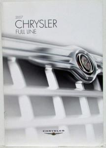 2007 Chrysler Full Line Sales Brochure