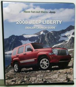 2008 Jeep Liberty Dealer Launch Guide Binder Data Promotional Info & More
