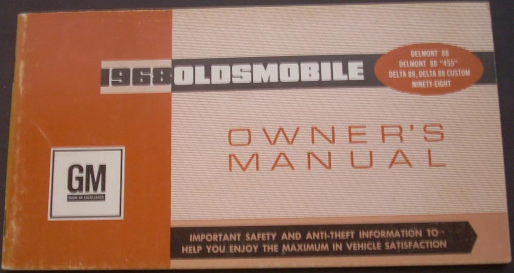 1968 oldsmobile delmont 88 455 delta custom ninety eight canadian rh autopaper com delta owners manual 13/14 series lancia delta owners manual download