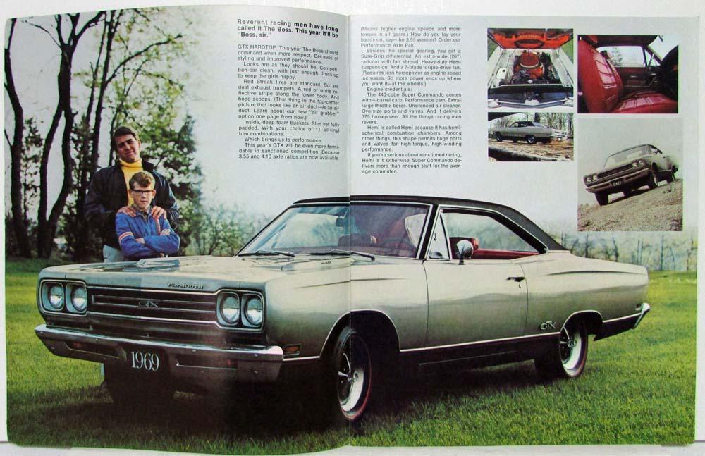 Mopar 1969 Plymouth Belvedere GTX Road Runner Sport ...