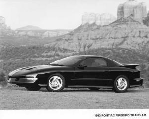 1993 Pontiac Firebird Trans Am Press Photo 0125