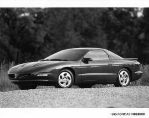 1993 Pontiac Firebird Press Photo 0126
