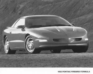 1993 Pontiac Firebird Formula Press Photo 0128