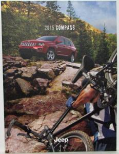 2015 Jeep Compass Sales Brochure Sport Latitude Limited