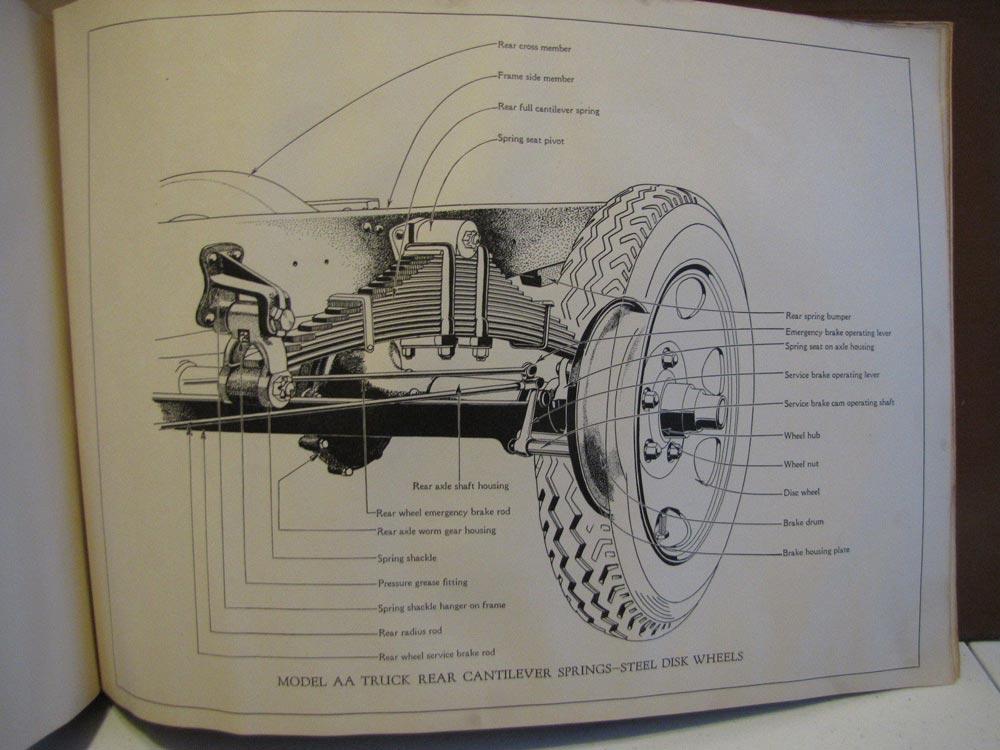 Ford Model A Parts List : Ford model a car aa truck dealer album book catalog