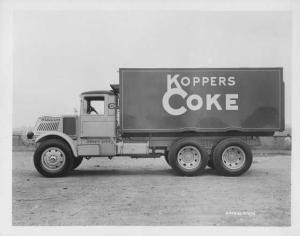 1930s Mack AK Truck Press Photo 0306 - Koppers Coke