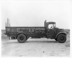 1930s Mack AK Truck Press Photo 0307 - Jacob Ruppert Brewer Hempstead LI Branch