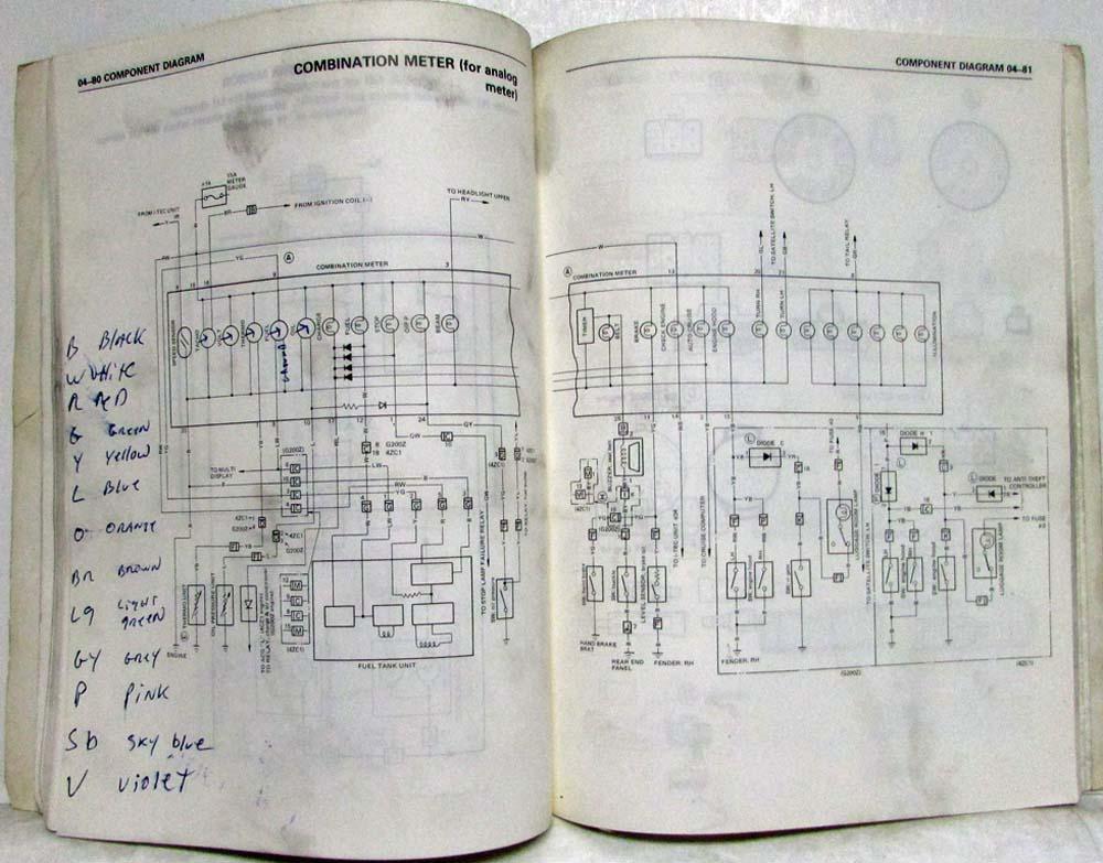 1991 Isuzu Impulse Wiring Diagram