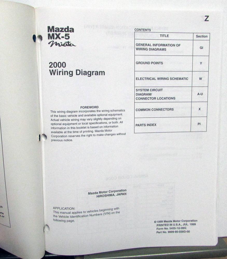 2000 Mazda Mx