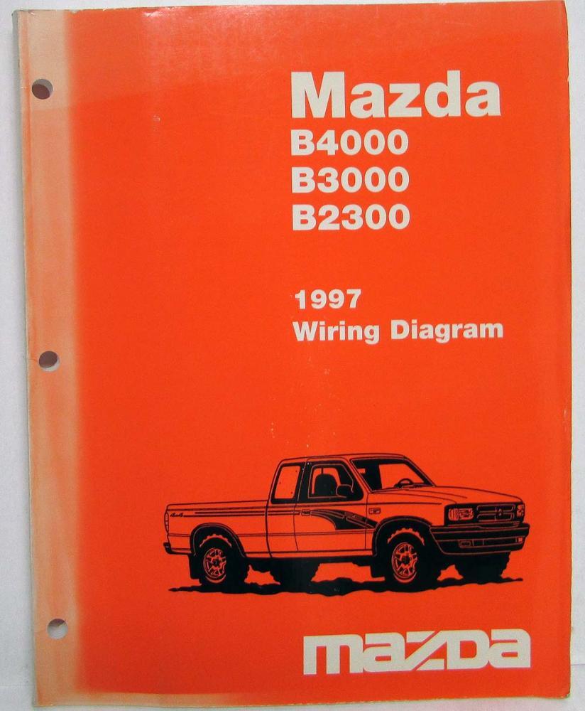 1997 Mazda B4000 B3000 B2300 Pickup Truck Electrical ...