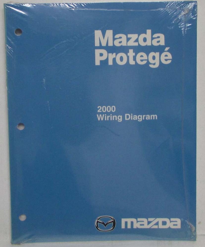2000 Mazda Protege Electrical Wiring Diagram Manual