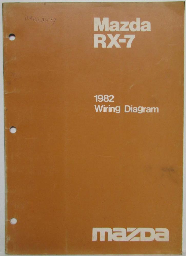 1982 Mazda Rx