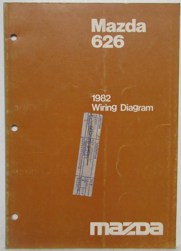 1982 Mazda 626 Wiring Diagram