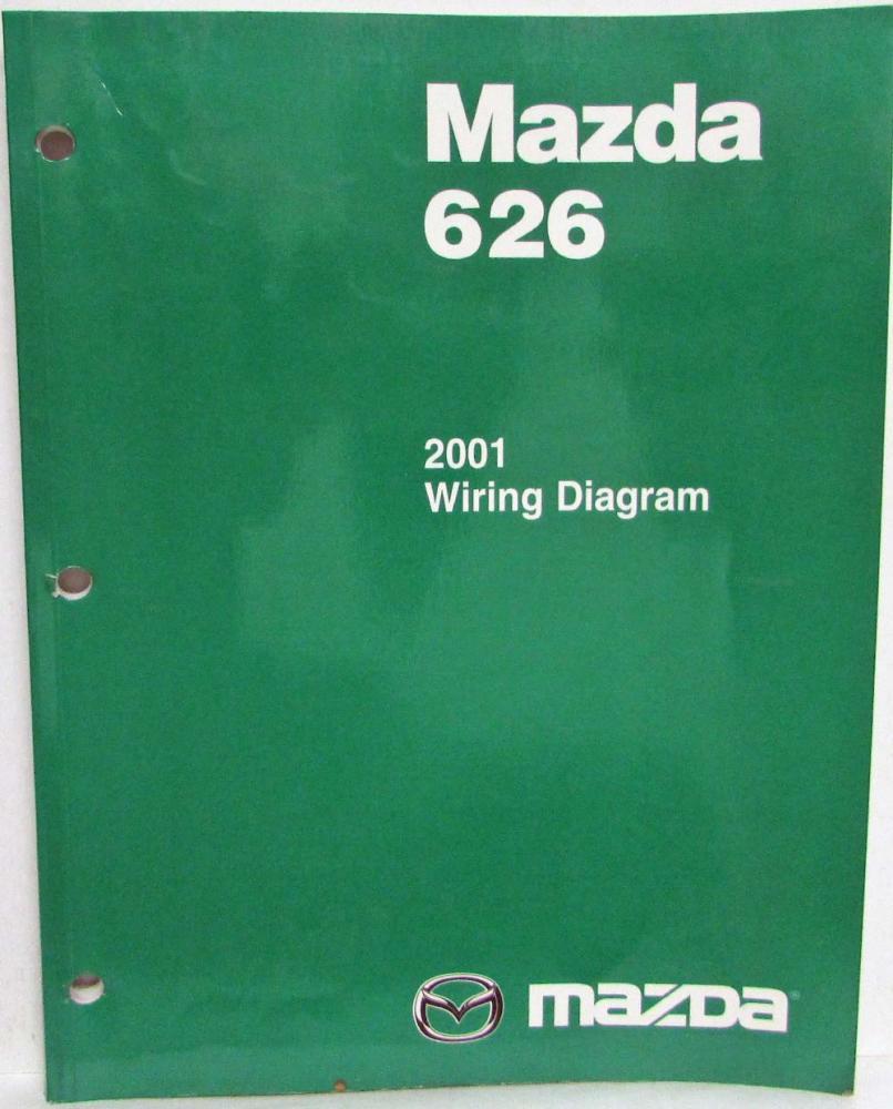 2001 Mazda 626 Electrical Wiring Diagram