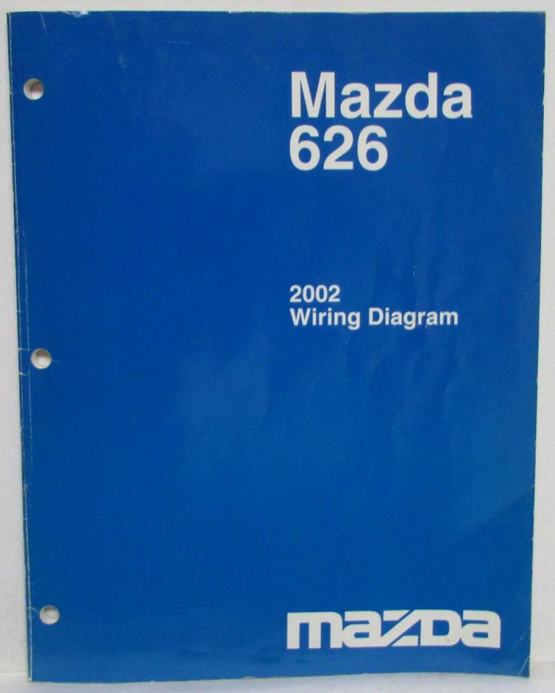 2002 Mazda 626 Electrical Wiring Diagram