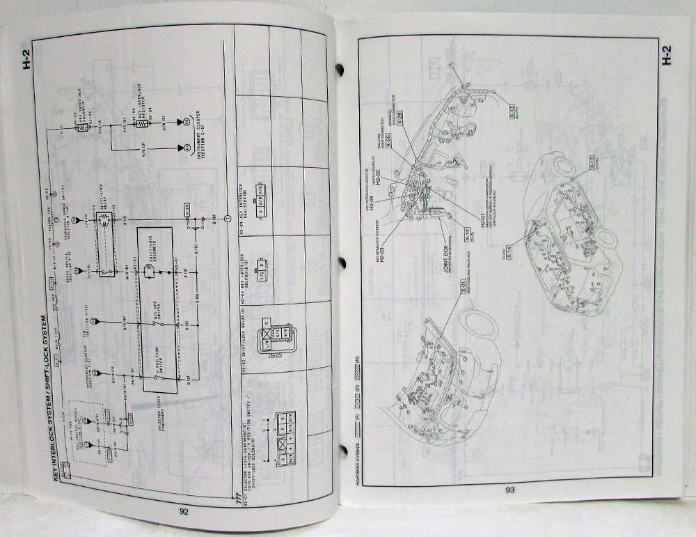 2003 Mazda Mpv Electrical Wiring Diagram