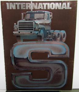 1977 International Trucks IHC S Series Sales Brochure Original