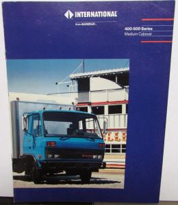 1990 thru 1993 International Trucks 400 500 Series Md Cabover Sale Brochure Orig