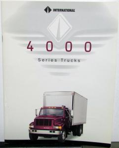1995 International IHC 4000 Series Trucks Sales Brochure Original