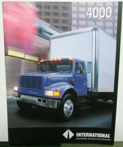 1991 International IHC Model 4000 Sales Brochure Original