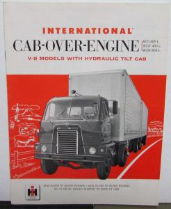 1957 International Trucks IHC Cab Over Engine V8 Sales Brochure Original