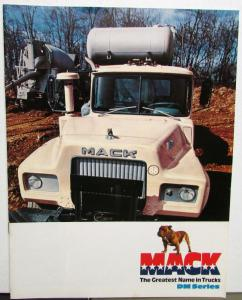 1976 Mack Trucks DM Series Specifications Sales Brochure Original