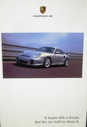 2002 porsche sales brochure boxster s 911 carrera targa turbo gt2. Black Bedroom Furniture Sets. Home Design Ideas