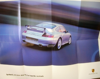 2002 porsche dealer sales brochure folder 911 carrera turbo gt2 boxster s. Black Bedroom Furniture Sets. Home Design Ideas