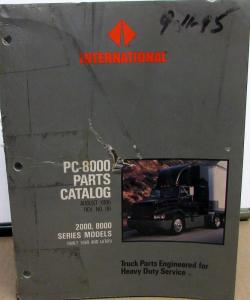 1989-1996 International Truck 2000 8000 Series PC-8000 Parts Book