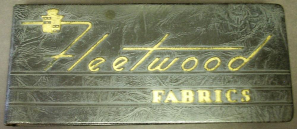 1942 Cadillac Fleetwood Dealer Upholstery Fabrics Album 60