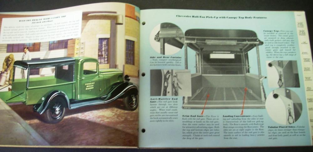 Chevrolet Truck Dealer Album Gold Book Of Truck Values Half-Ton ...