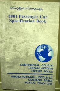 2001 Mercury Dealer Electrical Wiring Diagram Service ...