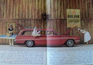 1962 Buick Station Wagon Invicta Special Estate Deluxe Oversized Sales Brochure
