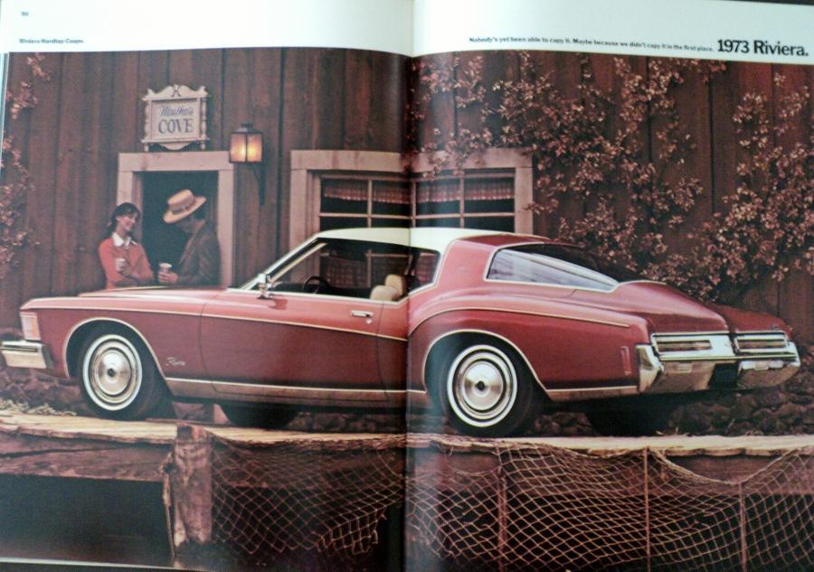 1973 Buick Sale Brochure Regal Century Gs Lesabre Centurion Wagon Electra Rivier