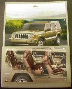 2006 Jeep Commander Press Kit 4X4 SUV Rare!